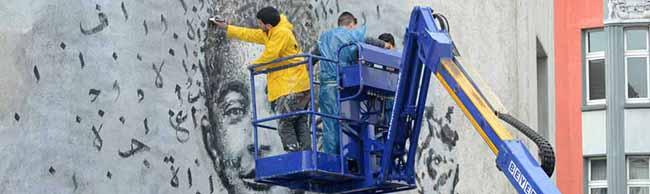 HUNA/K-Festival: Ein freundliches Lächeln als beeindruckendes Statement gegen Krieg und Vertreibung
