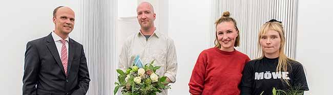Julius Stahl ist der zehnte DEW21-Kunstpreisträger – Ausstellung mit 16 Künstlern im Dortmunder U zu sehen