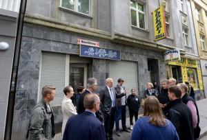 Ende Juli fand ein Ortstermin von mehreren Fachämtern in der Mallinckrodtstraße statt.