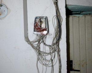 Die Elektroinstallationen müssen größtenteils komplett erneuert werden.