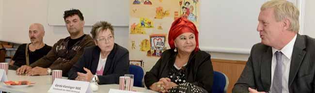 Diskriminierung und Perspektivlosigkeit als Fluchtgrund für Roma – Musik-Ikonen vom Balkan zu Gast im Konzerthaus
