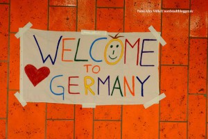 Refugees Welcome - Flüchtlingszug nach Dortmund _4688 - NSB