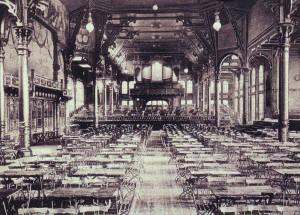 Großer Saal im 1889 enstandenen Saalbau. Sammlung Winter