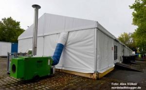 Alle Gebäude sind wind- und wetterfest und auch für den Winter ausgerüstet.