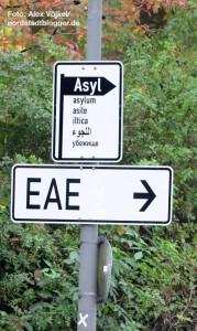 Auf dem Parkplatz F2 neben dem Westfalenpark ist die EAE errichtet worden.