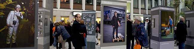 """Der Verein internationaler Freundschaften zeigt seine Ausstellung """"Glückauf in Deutschland"""" in der Berswordthalle"""