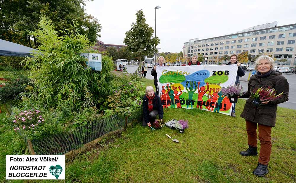 Die Initiative Garten statt ZOB blickt auf ein vierjähriges Bestehen zurück.