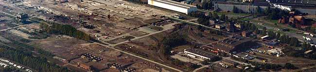 Logistik auf der Westfalenhütte: Areal der ehemaligen Sinteranlage für Gewerbe- und Industrieflächen
