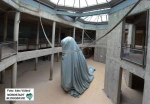 Die Sanierung des Naturkundemuseums schreitet voran - mittlerweile ist es in den Rohbauzustand versetzt.