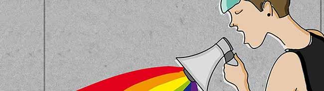 Poetry meets Regenbogen in Dortmund: Erstmals findet ein Benefiz-Slam für sexuelle Vielfalt im Taranta Babu statt