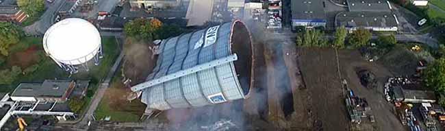 Gasometer Lindenhorst gesprengt – Eine weitere stadtbildprägende Dortmunder Landmarke ist Geschichte
