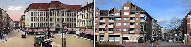 Steinplatz im Wandel: Vom Bauernmarkt zum Nebenzentrum bis zum Platz mit Charme des Sozialwohnungsbaus
