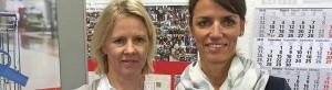 Warnen vor zu sorgloser Kreditaufnahme: Annette von Hadel und Uta Petzolt, Schuldner- und Verbraucherinsolvenzberaterinnen bei der Verbraucherzentrale in Dortmund. Foto: Joachim vom Brocke