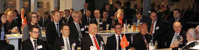 Hafenabend in Dortmund:  Rund 150 Gäste aus der Logistikbranche im größten Stadion Deutschlands