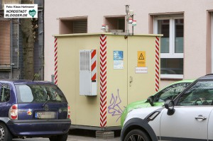 Eine der städtischen Messstationen an der Brackeler Straße. Archivbild: Klaus Hartmann