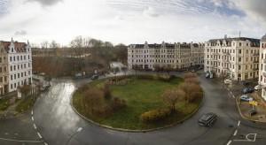 Der Brautwiesenplatz in Görlitz. Foto: Nikolai Schmidt
