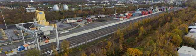 Der neue Hafenbahnhof ist überpünktlich fertig und vier Millionen Euro günstiger als ursprünglich kalkuliert
