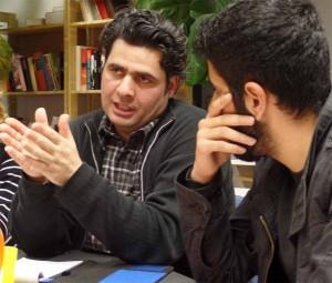 Journalist Ibrahim Mustafa war zu Gast beim Jugendforum Nordstadt.