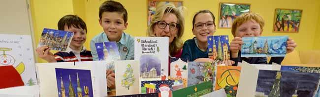 Nordstadt: Der Kinderschutzbund präsentiert seine neue Weihnachtskarten-Kollektion auch mit Dortmunder Motiven