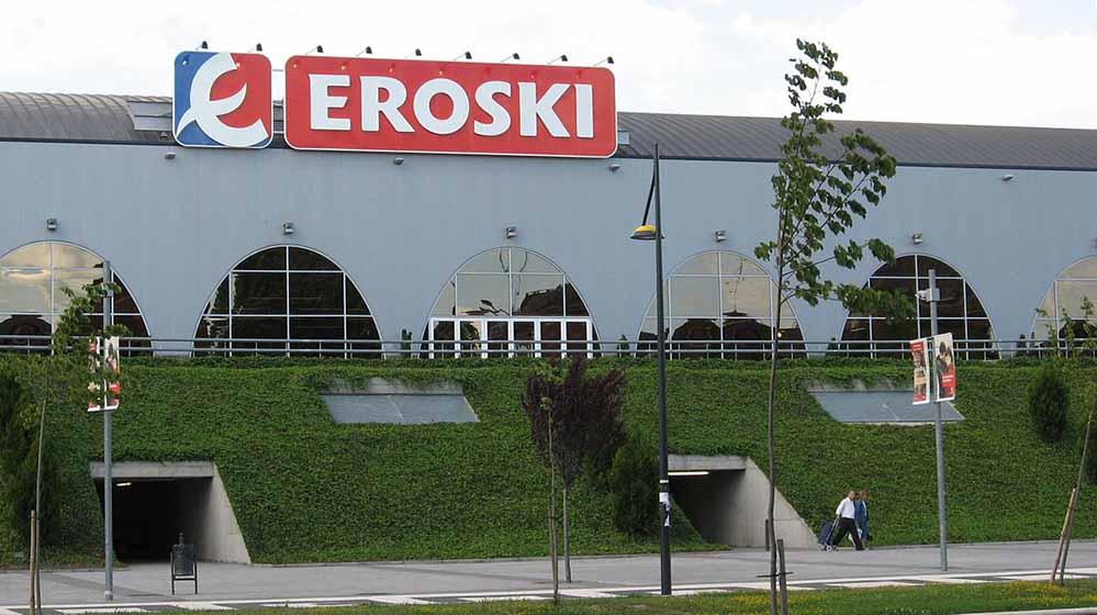 Eroski gehört zu der Mondragon-Handelsgesellschaft in Nordspanien.