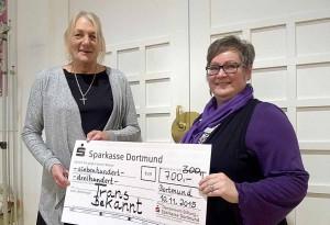 1000 Euro gab es für den Transbekannt e.V..
