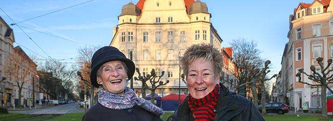 Der Zwilling des Borsigplatzes in der Weststadt von Görlitz: Lucia Urner entdeckte beim zweiten Hingucken die Ähnlichkeit