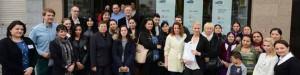 22 Zuwanderer aus Bulgarien und Rumänien haben an der Qualifizierung teilgenommen.