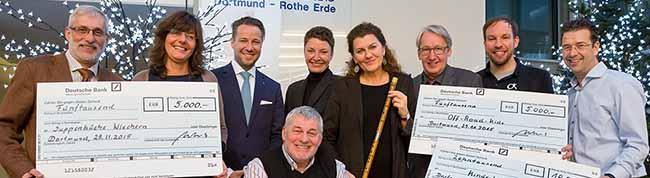 Das Lions-Hilfswerk Dortmund-Rothe Erde e.V. spendet 20.000 Euro an drei Dortmunder Projekte