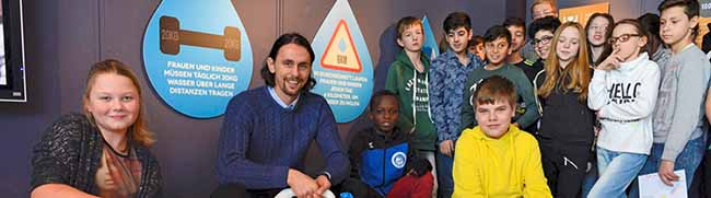 """Kindermuseum """"mondo mio!"""" stellt Neven-Subotic-Stiftung vor"""