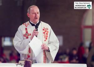 Feier zum 100-jährigen Bestehen des Diözesan Caritasverbandes im Erzbistum Paderborn. Pfarrer Ansgar Schocke