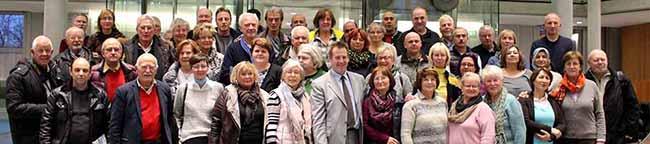 Thorsten Hoffmann bekommt viel Besuch im Bundestag