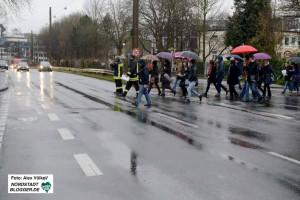 Wenn die Flüchtlinge kommen, wird die Ardeystraße kurzzeitig gesperrt.