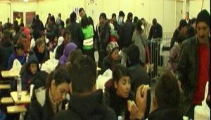 478 Flüchtlinge wurden in Dortmund betreut und nach Helm-Bork weitergeschleust.