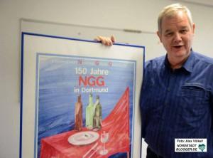 Manfred Sträters NGG geht auf die Organisation der Zigarrrenarbeiter vor 165 Jahren zurück.