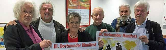 """Das III. Dortmunder Manifest ist von der Flüchtlingsfrage motiviert: """"Wehe,wenn du keine Heimat hast"""""""