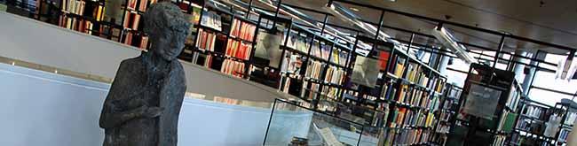 Nelly-Sachs-Plastik für die Stadt- und Landesbibliothek