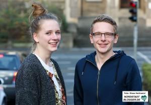 Sozialdienst katholischer Frauen initiiert Projekt U 25 Suizidprävention - Jugendliche helfen Jugendlichen. Maren und Jan sind Peers und beraten Jugendliche in Gelsenkirchen