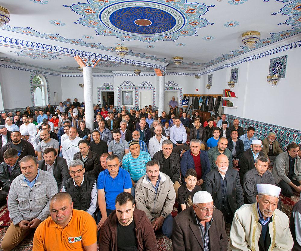 Die Eyüp Sultan Moschee des türkischen Kulturverein
