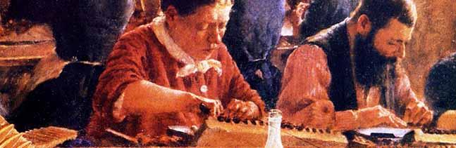 SERIE (2) – Die NGG und ihre Vorläufer: Zigarrenarbeiter gehörten zu den Pionieren der Gewerkschaftsbewegung