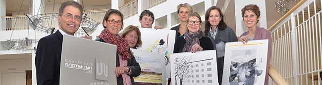 """Ausstellung und Kalender """"Grafik aus Dortmund"""": Künstlerinnen und Künstler können sich bewerben"""