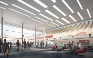 Innenansicht: So soll das neue Besucherzentrum aussehen. Bild: Westfalenhallen
