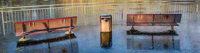 Nur ein neues Grabensystem könnte die nächste Überschwemmung im Hoeschpark verhindern