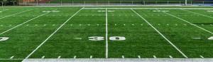 Das American Football-Feld nimmt Gestalt an. Allerdings sind die Anlagen nicht wie versprochen zugänglich.