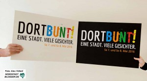 """Am 7. und 8. Mai heißt es """"DORTBUNT! Eine Stadt. Viele Gesichter"""". Fotos:Alex Völkel"""