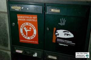 Die Neonazis reklamieren Dorstfeld und speziell das Viertel um den Wilhelmplatz für sich.