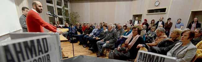 """Kontroverser Vortrag von Ahmad Mansour: """"Antisemitismus unter Muslimen – Woher kommt der Hass?"""""""
