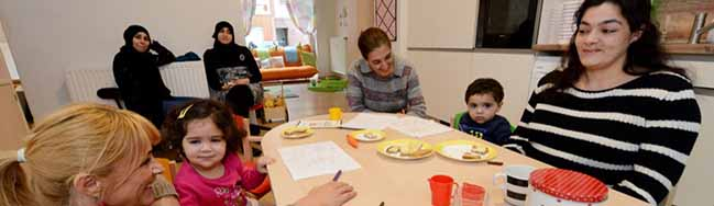 Neun Kinder, neun Nationen und drei Tagesmütter: Zwei neue Kinderstuben sind in der Nordstadt in Betrieb gegangen