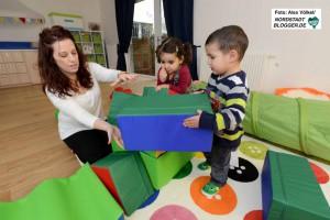 Die AWO betreibt mittlerweile vier Kinderstuben in der Nordstadt. Fotos: Alex Völkel