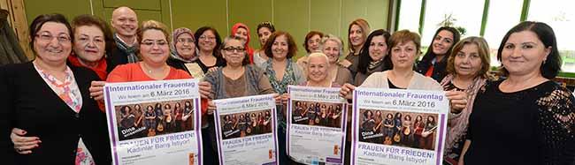 """""""Frauen für Frieden"""" im Dietrich-Keuning-Haus: Der Migrantinnenverein lädt zum Internationalen Frauentag ein"""