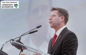 Einweihung der neuen KV-Anlage im Dortmunder Hafen. Vorstandsvorsitzender DSW 21 Guntram Pehlke